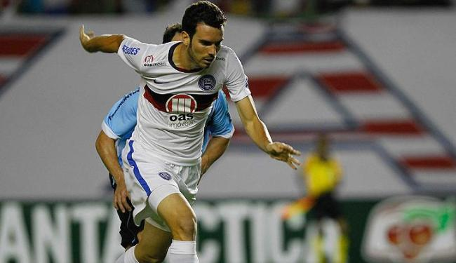 Lucas Fonseca só começou no futebol aos 23 anos, após terminar a faculdade - Foto: Eduardo Martins / Ag. A Tarde
