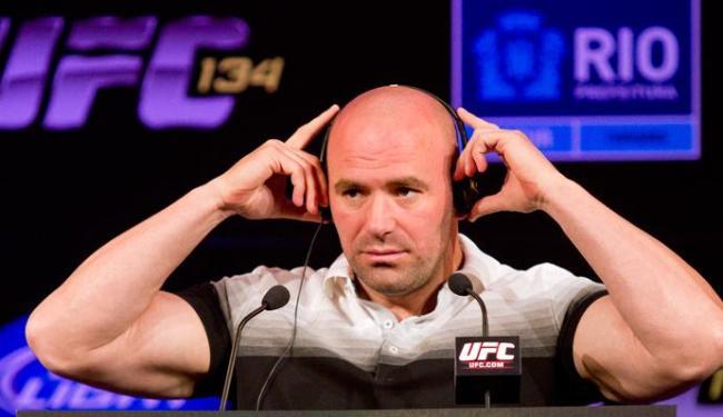 Empolgado com crescimento do UFC no país, Dana quer fazer 12 eventos no Brasil em 2013 - Foto: Wander Roberto/UFC
