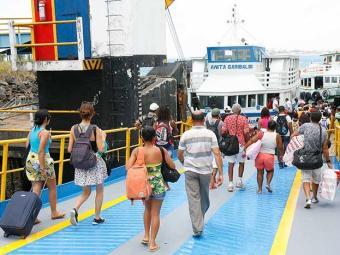 Com a retirada de quatro embarcações, sistema ferryboat trabalha sem hora marcada - Foto: Marco Aurélio Martins | Ag. A TARDE