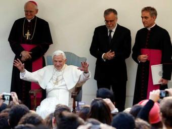 Bento XVI disse que é lindo ser velho - Foto: Alessandro Bianchi | Ag. Reuters