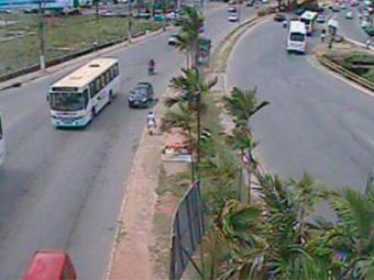 Trânsito livre na Av. Lucaia - Foto: Divulgação | Transalvador