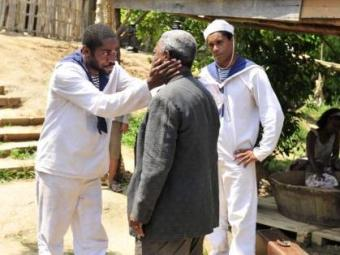 A conversa entre Zé e Afonso será envolvida de muita emoção - Foto: Divulgação | TV Globo
