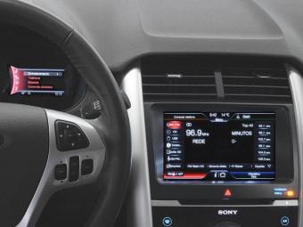 O SYNC equipa os carros EcoSport, New Fiesta, Fusion e Edge - Foto: Divulgação/Ford