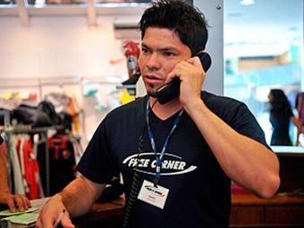 Isaac Montalvão ingressou em loja como temporário e foi efetivado - Foto: Agência Brasil