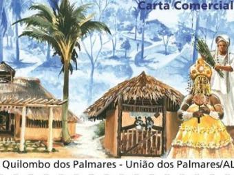 Selo homenageia o Quilombo dos Palmares - Foto: Divulgação / Correios
