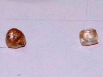 Diamantes foram retidos no Complexo Policial de Feira - Foto: Reprodução | Acorda Cidade