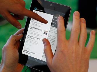 Popularização de smartphones e tablets vai aumentar tráfego de dados - Foto: Agência Reuters