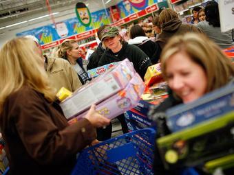 Vendas presenciais no varejo foram estimadas em US$ 11,2 bilhões - Foto: AFP