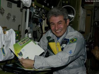 O astronauta Marcos Pontes fará palestra nesta terça - Foto: Divulgação
