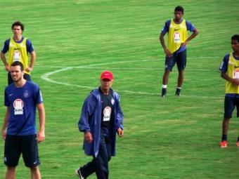 Ainda sem Diones, elenco tricolor treina em Brasília de olho na decisão contra o Atlético-GO - Foto: Esporte Clube Bahia | Divulgação
