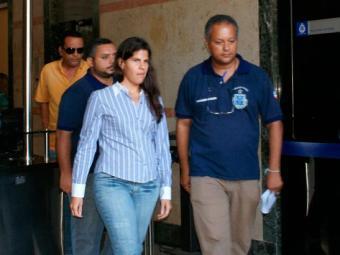 Lílian Bacelar foi detida por policiais na terça-feira, junto com o companheiro - Foto: Ascom | PC