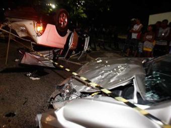 SUV perdeu a direção e foi para a pista contrária, segundo testemunhas - Foto: Lúcio Távora   Ag. A TARDE