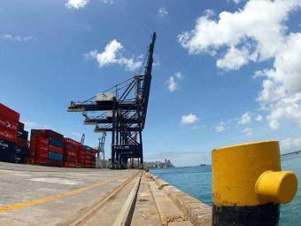 Reforma permite atracação de navios de maior porte e eleva produtividade - Foto: Manu Dias | SECOM