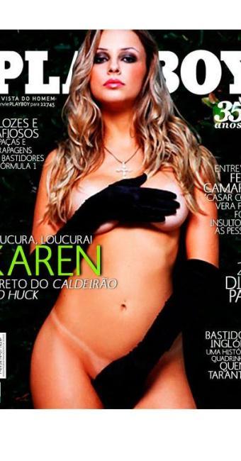 A revista de Karen Kounrouzan chega as bancas hoje - Foto: Divulgação