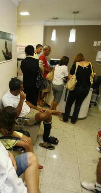 Os proprietários das clínicas se queixam de atrasos de pagamento - Foto: Luciano da Matta | Ag. A TARDE
