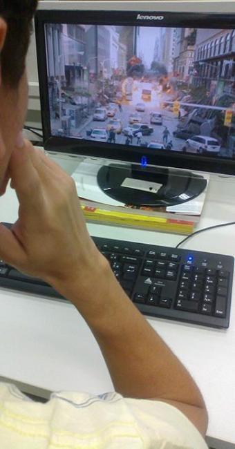 Comodidade faz a procura por filmes on line aumentar - Foto: Bárbara Silveira   Ag. A TARDE