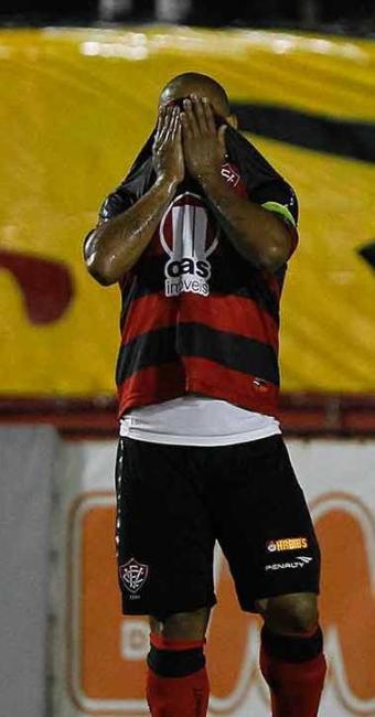 Depois de temporada conturbada, Uelliton é afastado do elenco e não veste mais a camisa do Leão - Foto: Eduardo Martins   Agência A TARDE