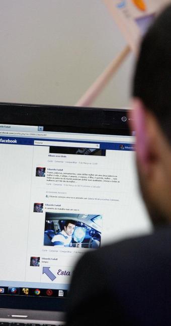 'Assim com há assaltantes rondando as nossas casas,há bandidos passeando pela internet