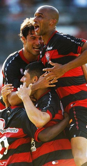 Após dois anos, Leão está de volta à elite do futebol nacional - Foto: Lúcio Távora | Agência A TARDE