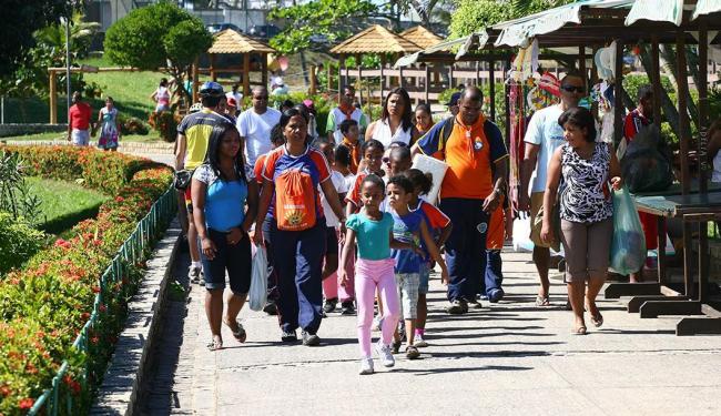 Os Parques Municipais abrirão todos os dias em seus horários habituais - Foto: Fernando Amorim | Ag. A TARDE