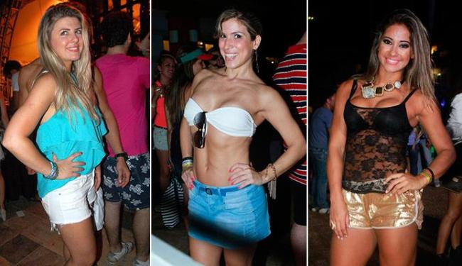 As ex-BBBs Iris, Milena e Mayra Cardi foram ao Paradise Weekend - Foto: Raphael Mesquita   Divulgação