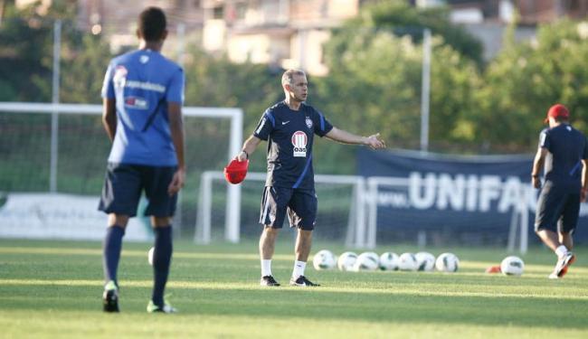 No reencontro com a Lusa, no Canindé, Jorginho espera levar Bahia ao fim do jejum - Foto: Fernando Amorim | Ag. A TARDE