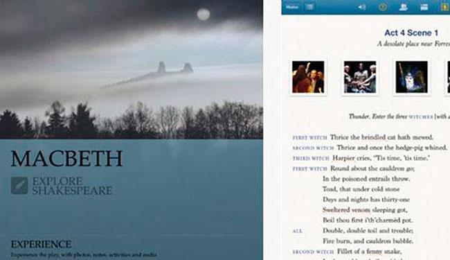 MacBeth é um dos destaques do iPad, junto com Romeu e Julieta - Foto: Reprodução