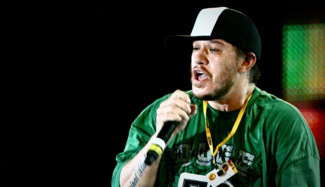 Chorão, vocalista do grupo santista Charlie Brown Jr. - Foto: Thiago Teixeira | Ag. A TARDE