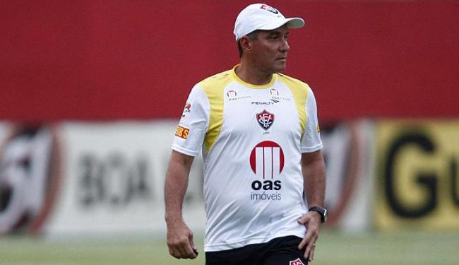 Para o treinador, retiro em Itibaia será importante para garantir acesso a Série A - Foto: Lúcio Távora / AG. A Tarde