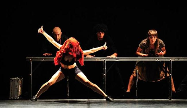 O espetáculo Escapada (MG) integra a mostra no Pelourinho - Foto: Reyner Araújo | Divulgação