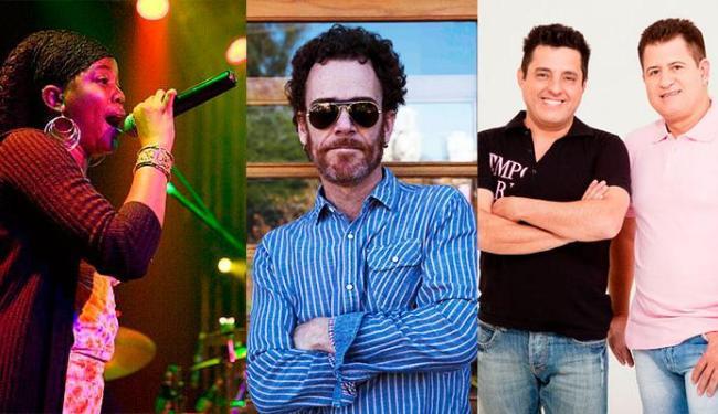 Desarie, Nando Reis e Bruno & Marrone se apresentam em Salvador no fim de semana - Foto: Divulgação   Ana Beatriz e Thiego Montiel   Divulgação