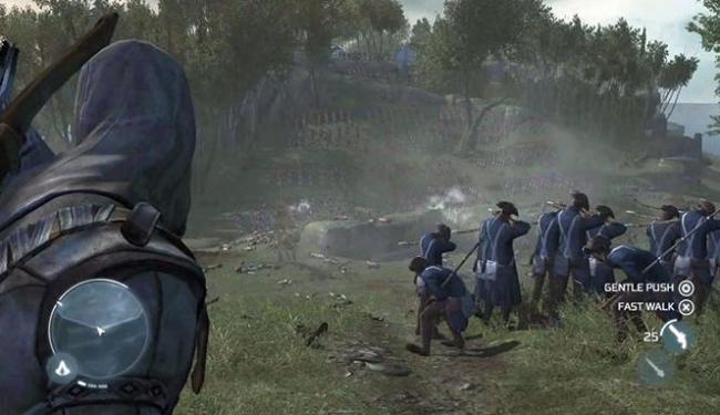 Jogo vai se passar na Revolução Americana, no século XVIII - Foto: Divulgação