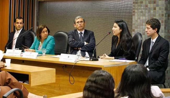 Depoimento na CPI do Tráfico Internacional de Pessoas na ALB - Foto: Marco Aurélio Martins | Ag. A TARDE