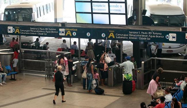 Agerba disponibiliza 150 horários extras partindo da Rodoviárias para as cidades do interior - Foto: Mila Cordeiro | Ag. A TARDE