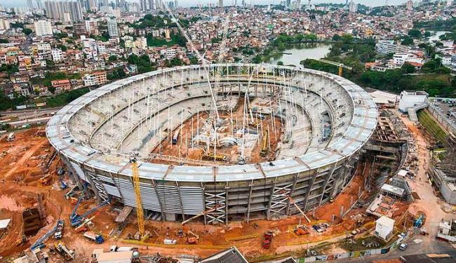 Novo gramado do estádio baiano terá a dimensão de 105m x 68m - Foto: Nilton Souza / divulgação