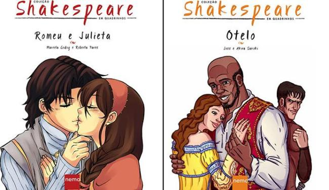 As obras do escritor inglês nos quadrinhos foram divididas em cinco volumes - Foto: Divulgação
