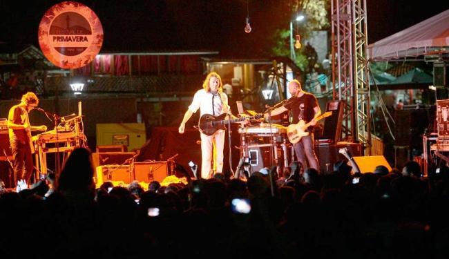 Lenine abriu o show da primeira noite do evento - Foto: Mila Cordeiro   Ag. A TARDE