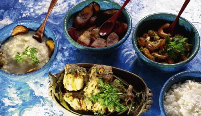 Banquete das Yabás, dedicado a Iansã e Iemanjá, prato de Tereza Paim - Foto: Fernando Vivas | Ag. A TARDE