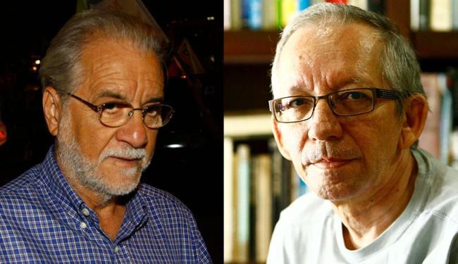 Emiliano José e Antonio Risério não se entendem e discutem publicamente em artigos - Foto: Fotos: Claudionor Junior e Fernando Vivas | Ag. A TARDE