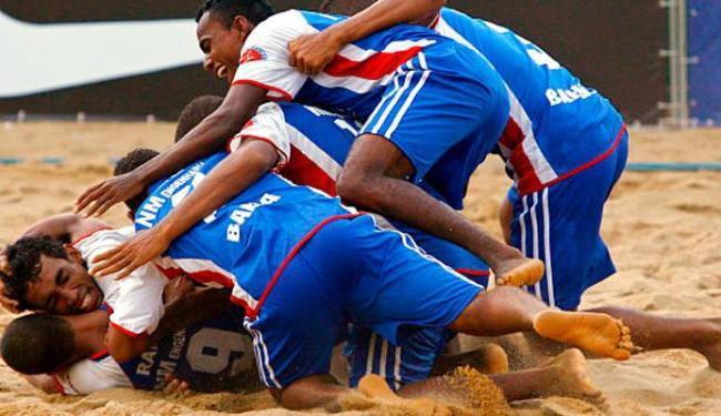 A seleção baiana tenta, com o apoio da torcida local, o inédito título da competição - Foto: Divulgação