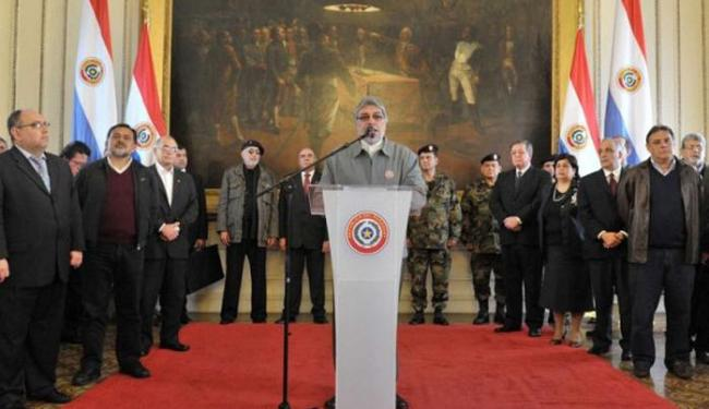 Lugo avisa aos paraguaios que vai se submeter ao juízo político - Foto: Rafael Alejando Urzúa
