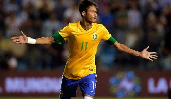 Neymar fechou a sequência de pênaltis que deu título ao Brasil - Foto: Enrique Marcarian | Agência Reuters