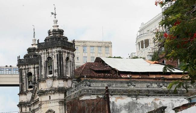 Centro da festa do próximo dia 8, Igreja da Conceição enfrenta problemas estruturais - Foto: Mila Cordeiro | Ag. A TARDE