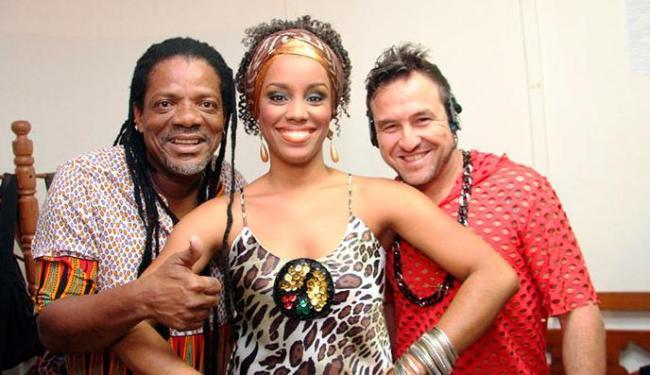 O trio de cantores do Olodum vai se apresentar quinzenalmente às terças, na Praça Tereza Batista - Foto: Divulgação