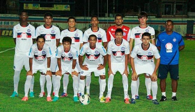 Esquadrão entra em campo contra o Atlético-MG reforçado por jogadores do elenco profissional - Foto: Esporte Clube Bahia / divulgação