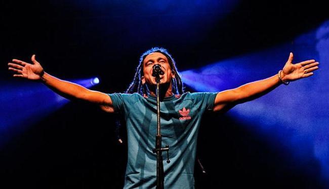 O vocalista Duda Sepúlveda vai comandar a Diamba na apresentação que abriria o show da Planet Hemp - Foto: Divulgação