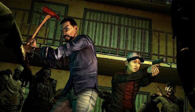 The Walking Dead é interativo e apresenta ao jogador uma história adulta, com personagens complexos - Foto: Divulgação
