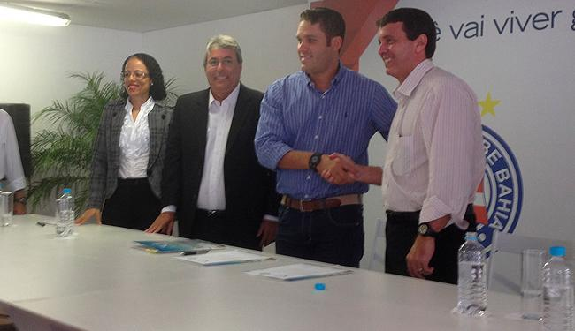 Contrato entre Esquadrão e o novo estádio vale por dois anos, que pode ser renovado por mais três - Foto: Lucas Cunha   Ag. A Tarde