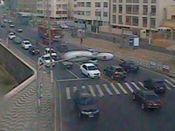 Em Ondina, trânsito tem fluxo normal do horário - Foto: Reprodução | Transalvador