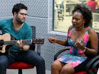 A cantora Margareth Meneses é uma das convidadas do dia 13 - Foto: Marco Aurélio Martins | Ag. A TARDE